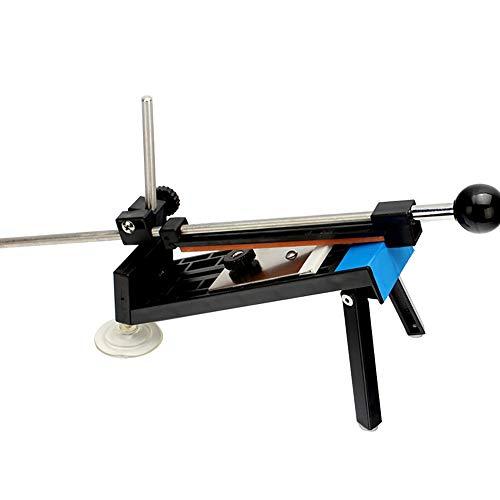 HshDUti Schärfmesser Kitchen Professional Sharpener Set Fix Winkel Schleifstein Werkzeug Black