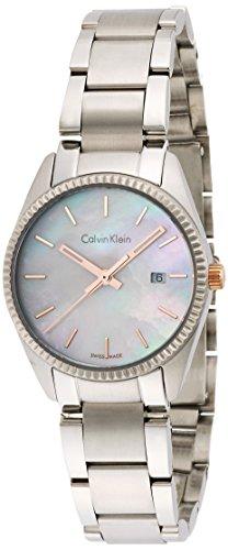 Calvin Klein–Reloj de Pulsera analógico para Mujer Cuarzo Acero Inoxidable k5r33b4g