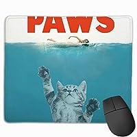Paws 猫の爪 マウスパッド 運びやすい オフィス 家 最適 おしゃれ 耐久性 滑り止めゴム底付き 快適操作性 30*25*0.3cm