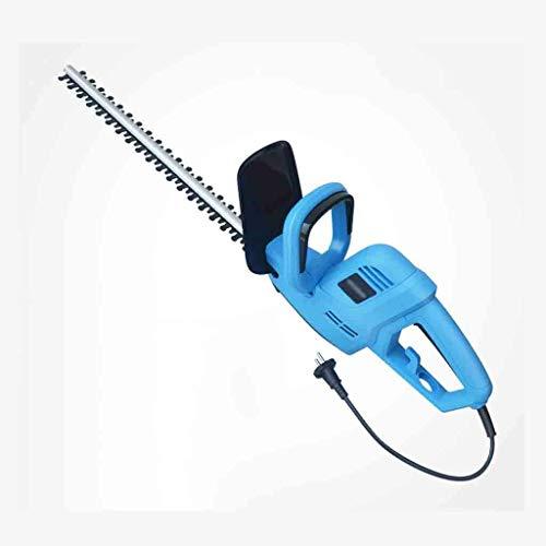 1yess 800W Corded Elektro-Heckenschere, Elektro-Heckenschere Gras-Heckenschere Grün Pruning Maschine Schneidemesser 51cm (Size : Plug in 800W+10M line)