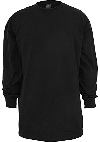 Urban Classics Herren Longsleeve Loose fit Black 5XL