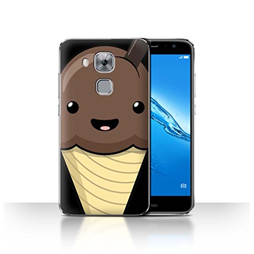 Diseño: Helado De Chocolate Diseñado específicamente para el Huawei Nova Plus Hecho de: plástico de policarbonato Facil quita y pon Esta carcasa permite el acceso a la cámara, los auriculares y todos los botones de su móvil.
