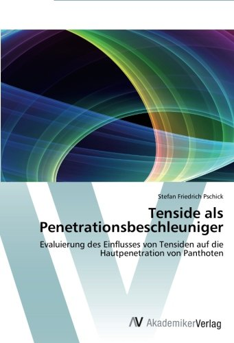Tenside als Penetrationsbeschleuniger: Evaluierung des Einflusses von Tensiden auf die Hautpenetration von Panthoten