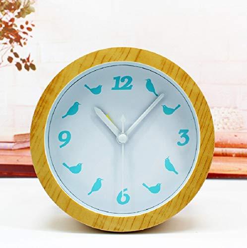 yywl Despertador 4.7 Pulgadas Alarma Individual Automóvil Despertador Reloj Digital Escritorio electrónico Decoración para el hogar Reloj Plástico