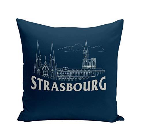 Fabulous Coussin 40x40 cm Strasbourg Minimalist Ville France Histoire Patrimoine