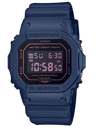Casio DW5600BBM-2 G-Shock Men's Watch Navy Blue 42mm Resin