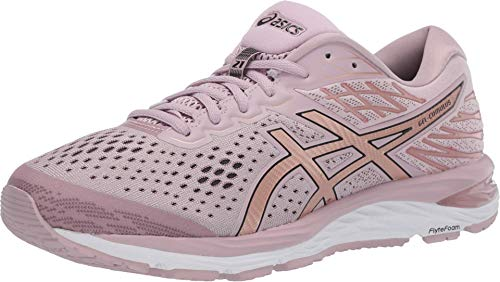 ASICS Women's Gel-Cumulus 21 Running Shoes, 9M, Watershed Rose/Rose Gold