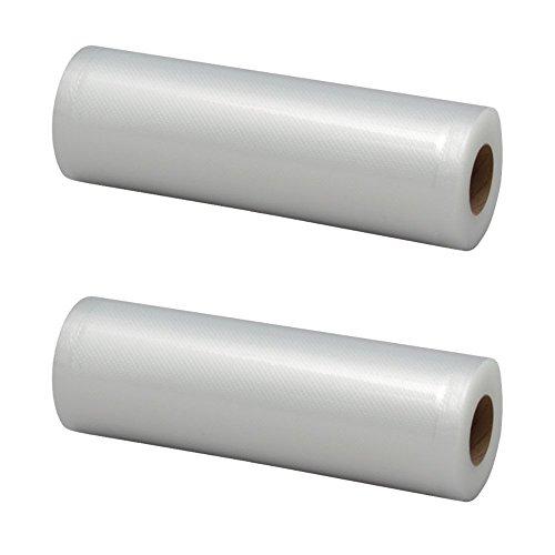 アイリスオーヤマ 真空保存フードシーラー専用ロール 幅20cm×長さ6m 2本セット VPF-R206T