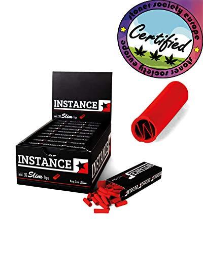 petit un compact Filtre rouleau fin pour cigarettes INSTANCE®    3 paquets de 36 conseils en carton…