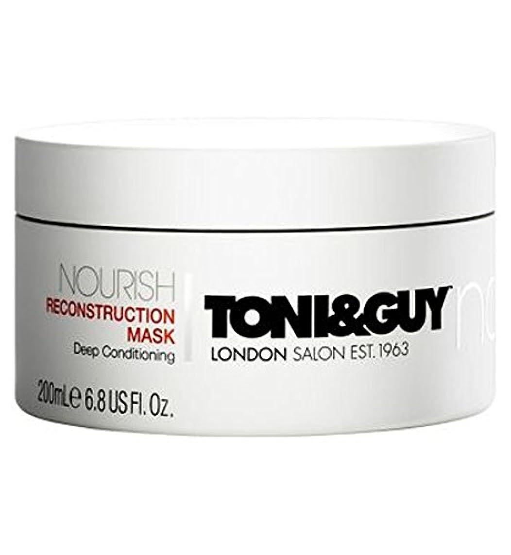 モノグラフなめる従事するToni&Guy Nourish Reconstruction Mask 200ml - トニ&男は復興マスク200ミリリットルを養います (Toni & Guy) [並行輸入品]