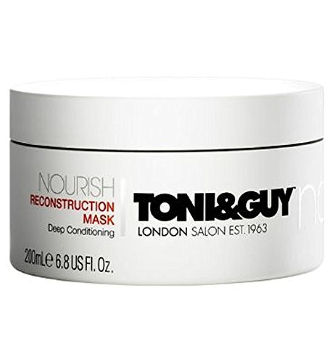 除去反響するスカルクToni&Guy Nourish Reconstruction Mask 200ml - トニ&男は復興マスク200ミリリットルを養います (Toni & Guy) [並行輸入品]