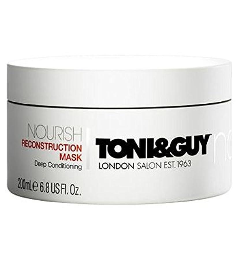 マーキングしたがって旧正月Toni&Guy Nourish Reconstruction Mask 200ml - トニ&男は復興マスク200ミリリットルを養います (Toni & Guy) [並行輸入品]