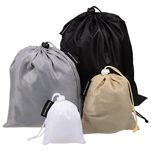 The Friendly Swede Organizing Storage and Packing Drawstring Travel Ditty Bags