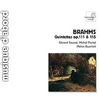 Clarinet Quintet, String Quintet.2: Melos Q, Portal(Cl) Causse(Va)