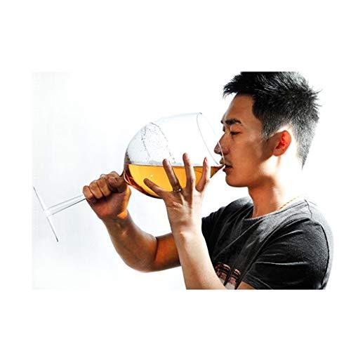 Bicchiere da vino Gigante Giant bicchieri di vino Grande Vino Bianco di vetro del partito della barra Club Bicchieri con Whisky cocktail Scotch Birra tazze di succo for i compleanni regalo di Natale