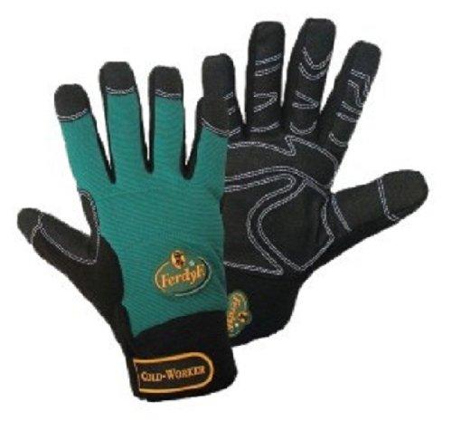 FerdyF. 1990 Handschuhe Mechanics COLD WORKER CLARINO® Kunstleder Größe XXL (11)