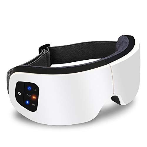 IGYLAR アイウォーマー 目元エステ ホットアイマスク フェイススチーマー 目元マッサージャー 目元美顔器 USB充電式 Bluetooth音楽機能 音量調節 エア機能 折りたたみ式 男女兼用