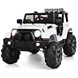 Costzon Ride On Truck, 12V Battery Powered Electric Ride On Car w/ 2.4 GHZ Parental Remote...
