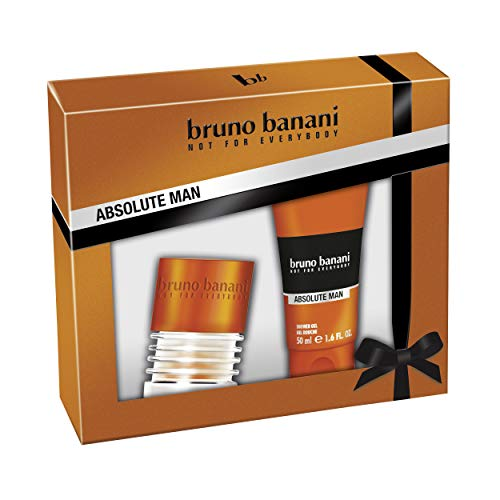 Bruno Banani Duftset Absolute Man Eau de Toilette 30ml + Showergel 50ml, 1er Pack (1 x 80 ml)