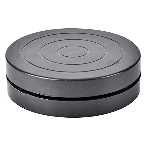 HEEPDD Turntable, 11.5/17.8cm Hand-Made Craft Clay Plastic Turntable Ceramic Pottery Sculpture Tool Black Direct-Drive Turntable(Diameter 17.8) -  HEEPDD81hw3x5ekc-02