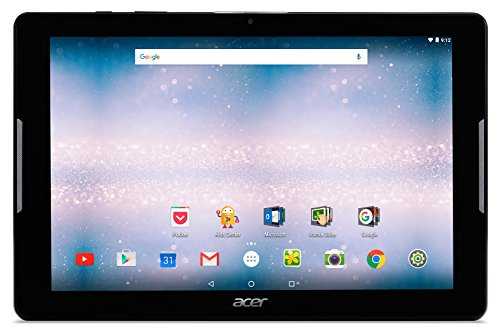 Acer Iconia One 10.1-Inch Tablet - (Black) (MediaTek MT8163, 1 GB RAM, 16 GB SDD, Android 6.0)