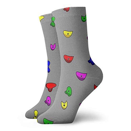 Klettersocken, klassisch, Sport, kurze Socken, 30 cm, geeignet für Männer und Frauen