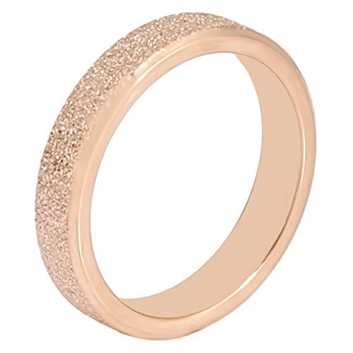 #N/A Ristiege - Anillo de arena con perla creativa, anillo d