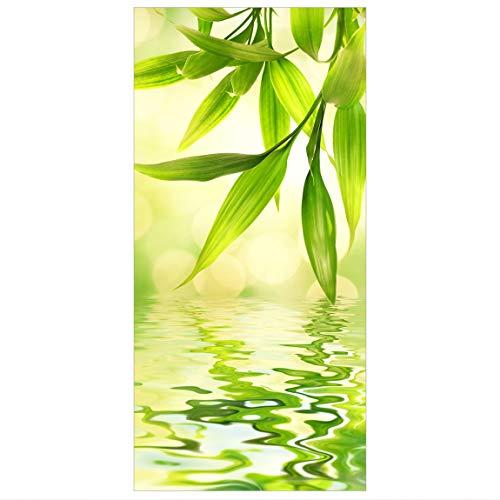Bilderwelten Raumteiler Green Ambiance I 250x120cm inkl. transparenter Halterung