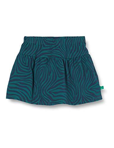Fred'S World By Green Cotton Safari Skirt Jupe, Bleu (Midnight 019411006), 98 Bébé Fille