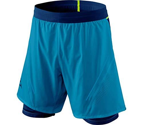 DYNAFIT Alpine PRO M 2/1 Pantaloncini da Uomo, Uomo, Pantalone Corto, 08-0000071158, Blu (Mykonos blue/8960), S