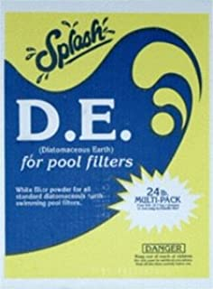 Splash Diatomaceous Earth (D.E.) 24lb Box (4 x 6lb Bags)