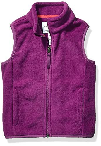 Amazon Essentials Polar Vest Fleece-Outerwear-Vests, Viola Prugna, X-Small