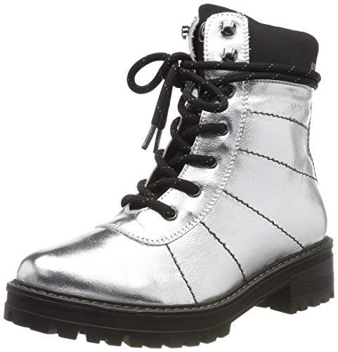 s.Oliver Damen 5-5-26217-23 Stiefeletten, Silber (Silver 941), 39