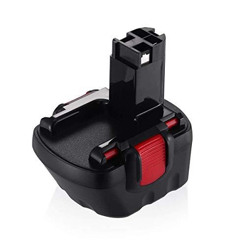 Kengdor 12V 3.0Ah Batería de Reemplazo Ni-MH para Bosch BAT043 BAT045 BAT135 BAT139 2607335542 26073355542 2607335542 2607335274 2607335709 GSR 12-2 12-2 12V-2 PSR 12 GSB 12VE-2 22 612 23 612 32 612