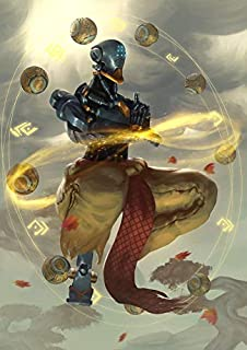 JinJing Prints Overwatch Zenyatta 14inch x 20inch Customized Silk Print Poster | Silk Wallpaper | Silk Printing