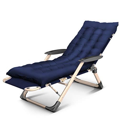Duan hai rong DHR - Tumbona reclinable para exteriores, camping, viajes, con almohadilla de algodón
