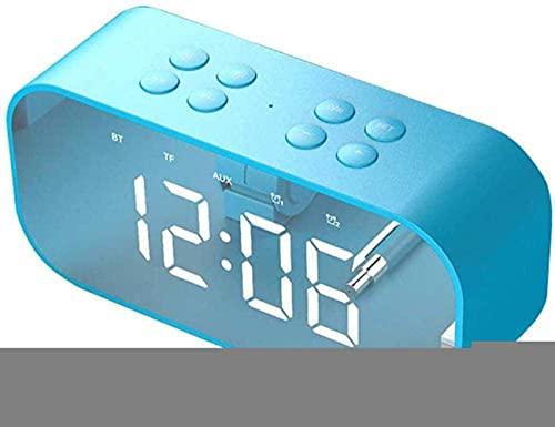 qwertyuio Relojes para Sala de Estar Relojes despertadores electrónicos Relojes mecánicos y de Cuerda Relojes mecánicos y de Cuerda Mini cabecera de Cama con luz de repetición Relojes de Mes