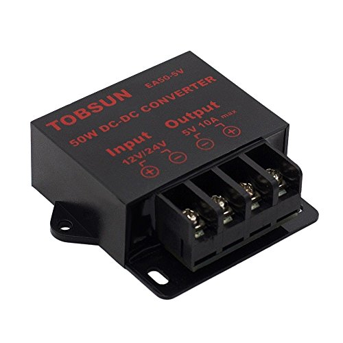 Conversor de Potencia DUMVOIN DC 12V 24V to DC 5V 10A 50W Converter Regulator Step Down Module Transformer power Supply