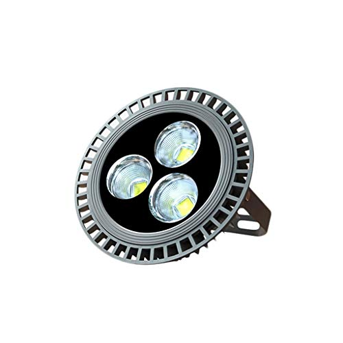 FINDYU Focos LED Exterior Impermeable Al Aire Libre Cartelera Wall Washer Light Robusto Anticorrosivo Lámpara De Seguridad por Almacén Taller Jardín Floodlight (Color : Luz Blanca, tamaño : 150W)