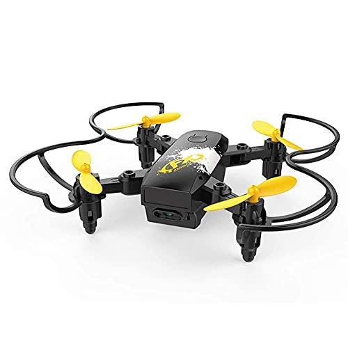 LYHY Mini Drone per Bambini, RC Nano Quadricottero con/Altitudine Hold, modalità Headless, con Sensore di gravità, Controllo Vocale, Controllo Gestuale, Altitudine Hold, per Principianti Nero