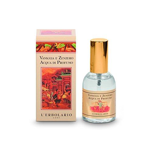 L'Erbolario Vanille und Ingwer Eau de Parfum, transparent, orientalisch, 50 ml