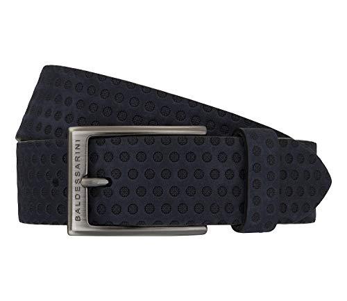 Baldessarini Gürtel Ledergürtel Herrengürtel Leder Blau 7500, Länge:90, Farbe:Blau