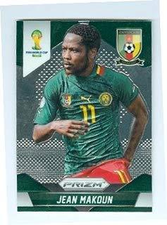 Jean Makoun trading card (Cameroon Antalyaspor Soccer) 2014 World Cup Prizm Chrome #39