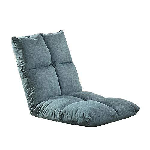 Einstellbare Winkel Tatami faules Sofa, Geeignet for Wohnzimmer, Kinderzimmer und andere Orte zu lesen und zu beobachten The Computer Lounge Chair (Color : Green)