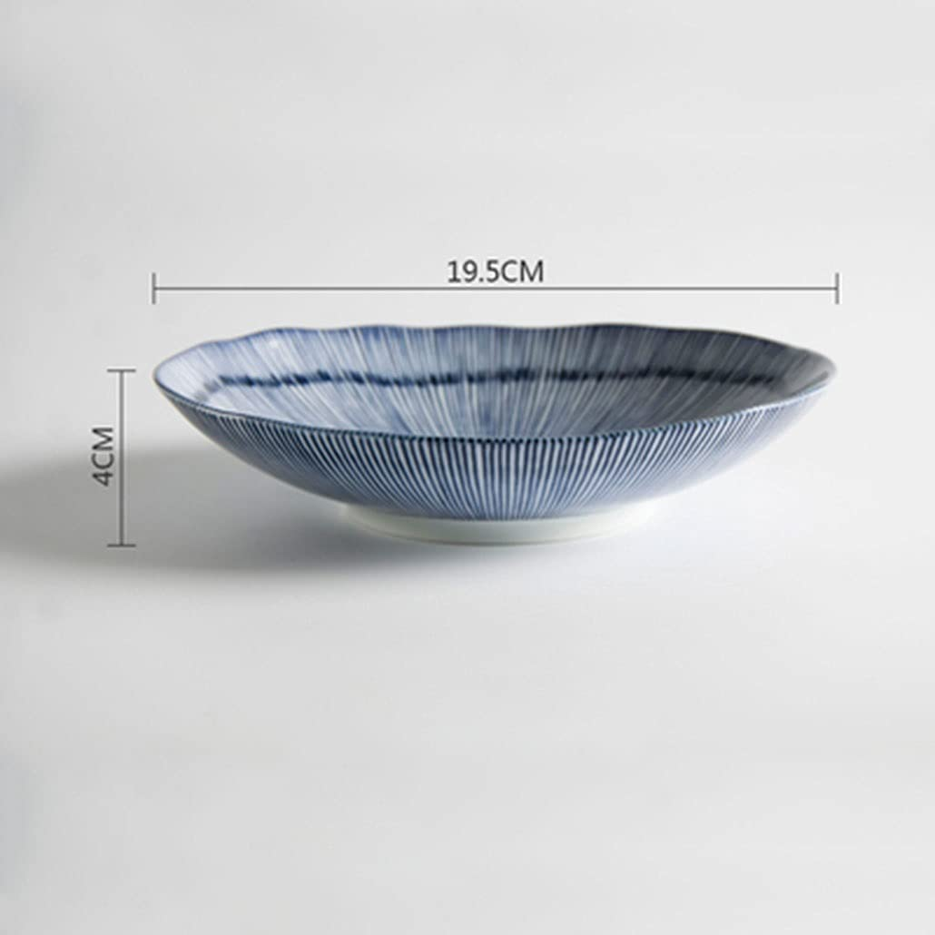 Tableware Thousand Lowest price challenge Grass Japanese Ceramic Creative Dim Oval Bowl Manufacturer regenerated product