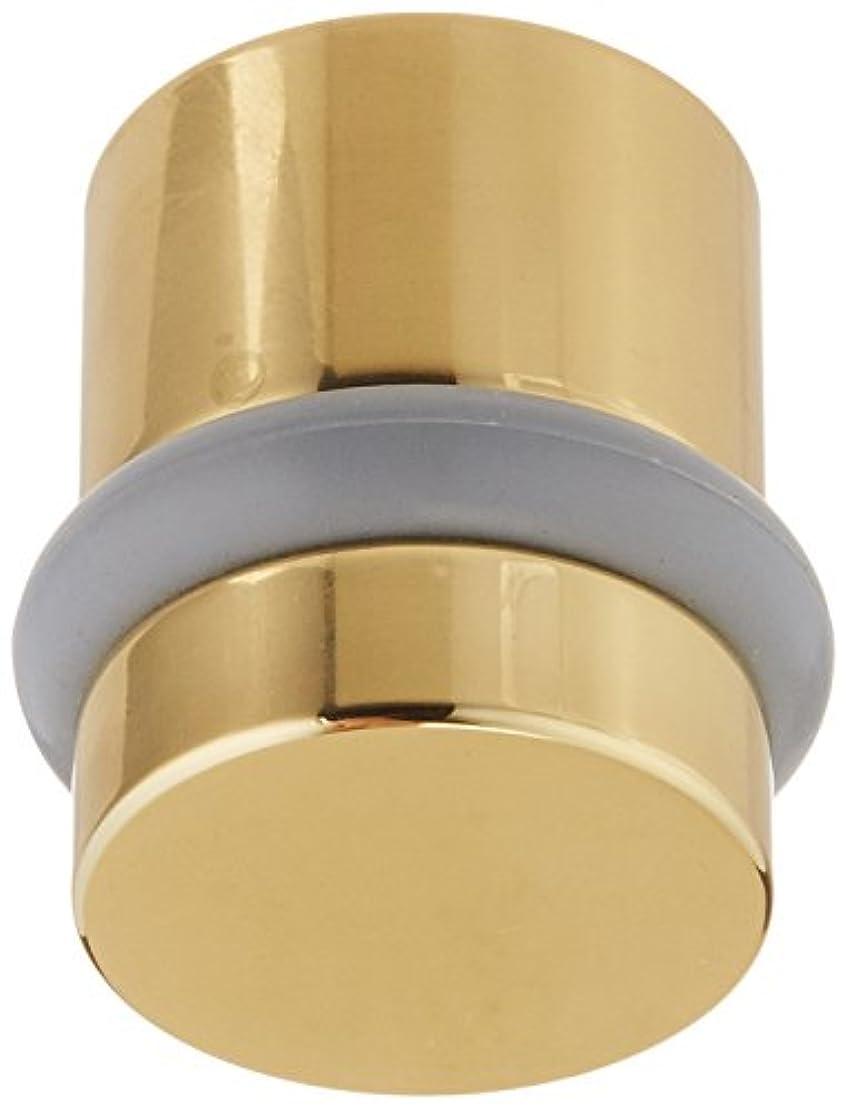 Baldwin Estate 4505.030 Modern Floor Bumper in Polished Brass, 1.18