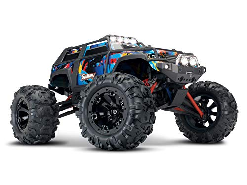 Traxxas SUMMIT RTR Brushed 2.4GHz mit Licht Rockn Roll 1:16 TRX72054-1