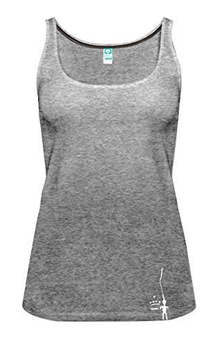 PETZL City Sport Débardeur Femme, Noir Chiné, FR : S (Taille Fabricant : S)