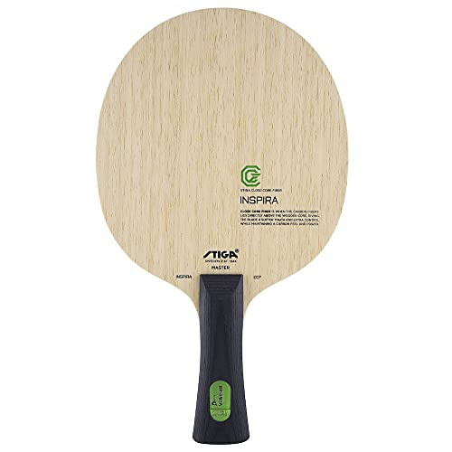 Stiga Unisex-Adult Inspira CCF Tischtennishölzer, Green, Classic