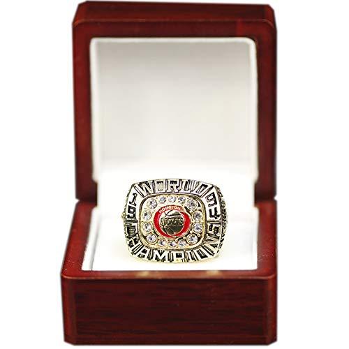 WSTYY 1994 Houston Rockets Championship Ring Anillos de Campeonato, campeones Anillo de réplica para Aficionados Colección del Regalo del Recuerdo de los Hombres,with Box,11#